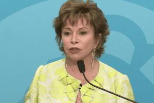 Isabel talar