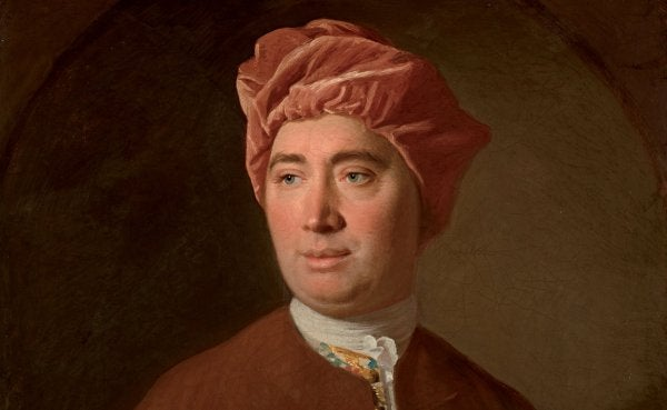 David Hume: biografi, arbete och filosofi