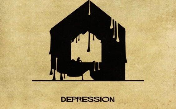 Depression som hus.