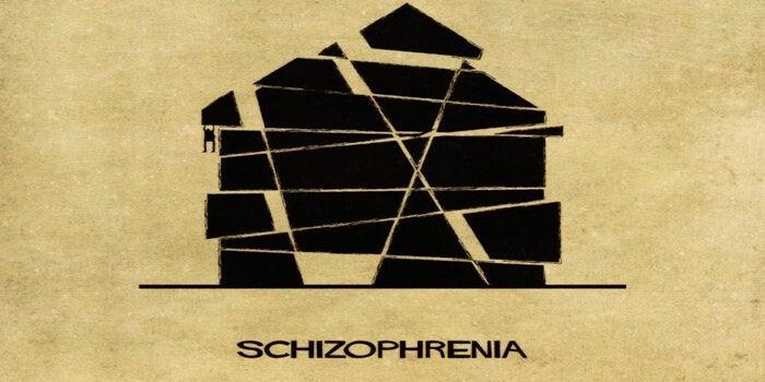 Schizofreni som hus.