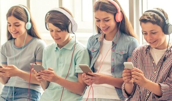 5 skrämmande saker om smartphonegenerationen