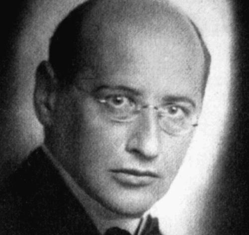 Ett svartvitt foto av Theodor Reik.