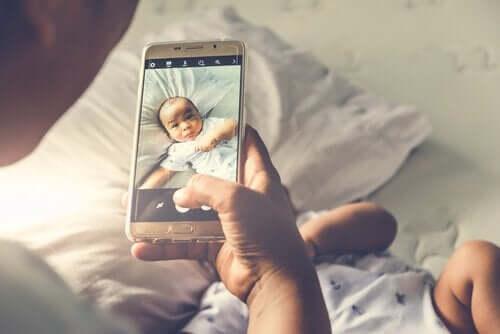 Bild på bebis