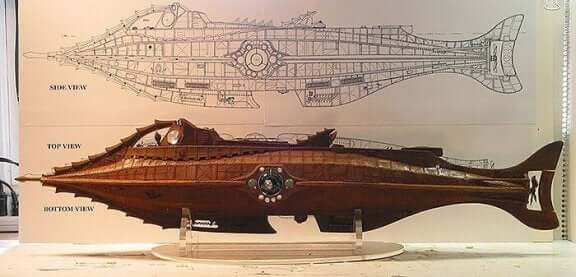 Modell av Nautilus