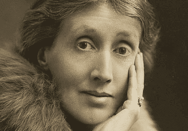 Porträtt av Virginia Woolf