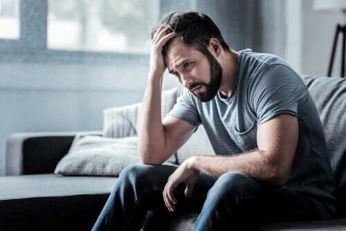 Självkritik är ett tecken på depression