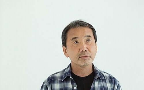 Bild på Murakami.