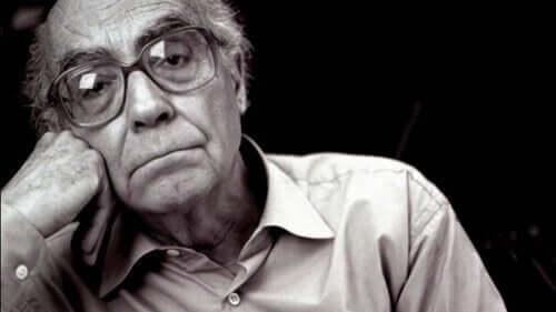 Foto på Saramago.