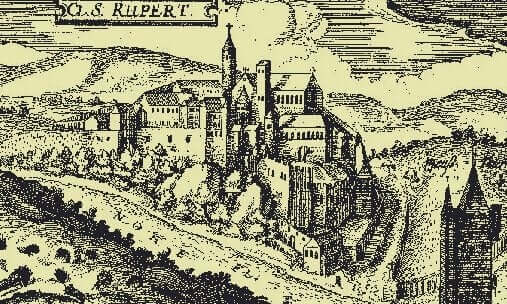 Hildegard kloster.