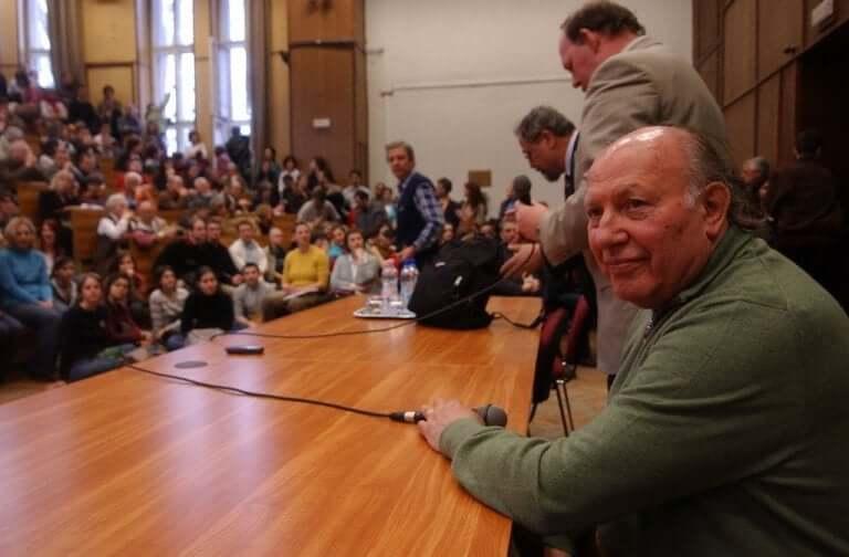 Imre Kertész konferens.