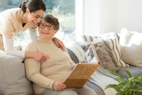 Icke-farmakologisk behandling av demens