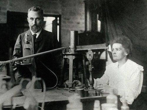 Marie och Pierre Curie