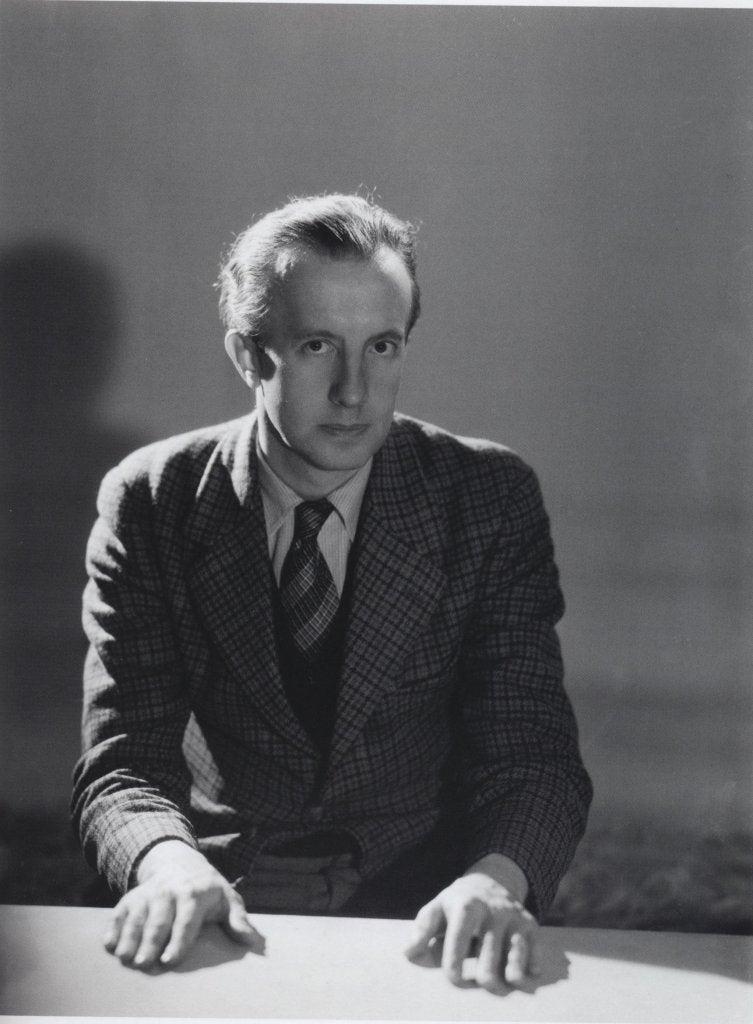 Ett foto av Paul Eluard.
