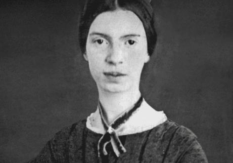 Porträttbild av Emily Dickinson