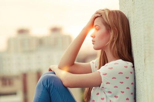 En kvinna som inte kan vara glad för andra människors skull.