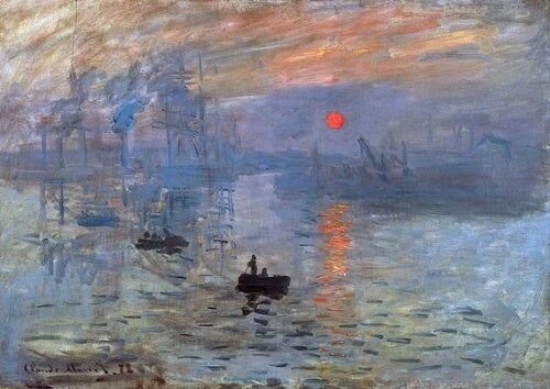 Konstnären Oscar Claude Monet & impressionismen