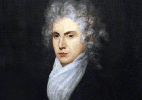 Senare porträtt av Mary Wollstonecraft