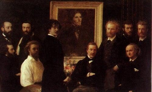 Monets målning.