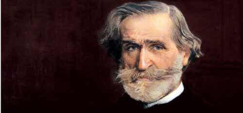 Den patriotiske kompositören Giuseppe Verdi