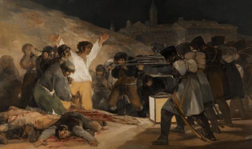 3:e Maj målning av Goya.