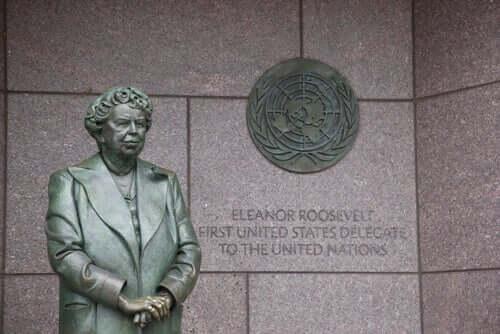 Staty av Eleanor Roosevelt