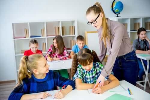 Modifiering av läroplanen för barn med specialbehov