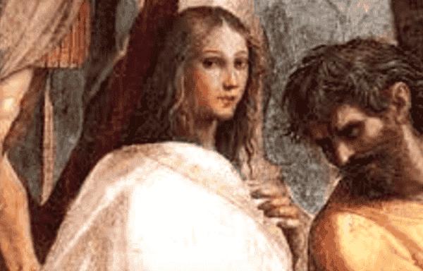 Filosofen Hypatia av Alexandria: vetenskap och religion