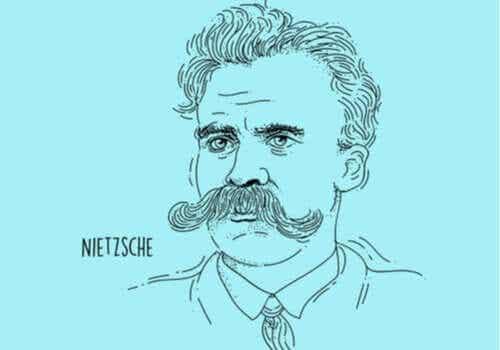 Filosofen Friedrich Nietzsche och viljan till makt