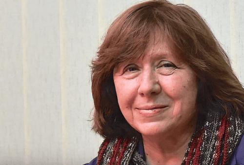 Lär dig mer om Svetlana Aleksijevitjs författarskap