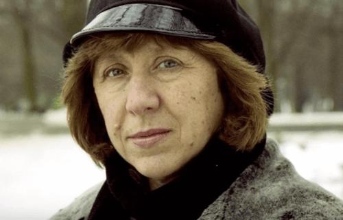 Svetlana Aleksijevitj är en modig författare
