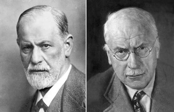 10 skillnader mellan Freud och Jung