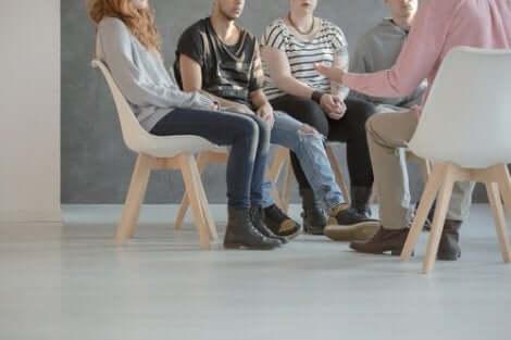 Gruppterapi för schizofrena