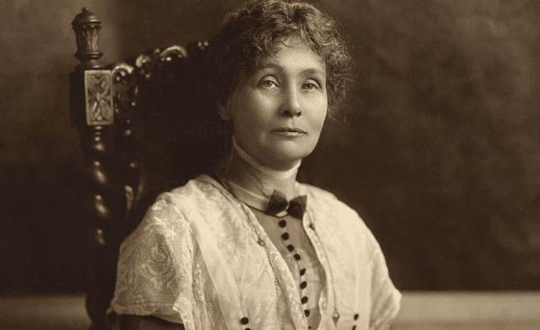 Emmeline Pankhursts kamp för kvinnorörelsen