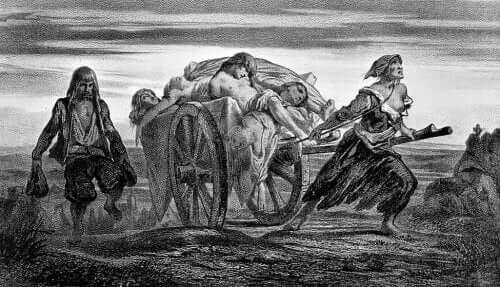 digerdödens bisarra dagar under medeltiden