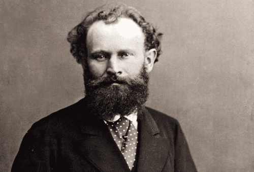 Fotografi av konstnären Édouard Manet