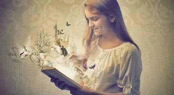 Böcker är som speglar under ditt liv