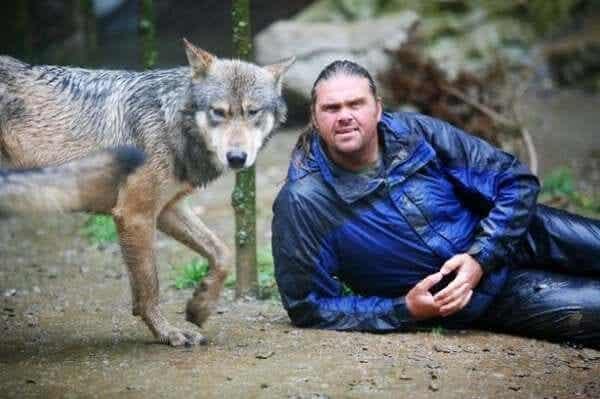 Shaun Ellis: en man bland vargar