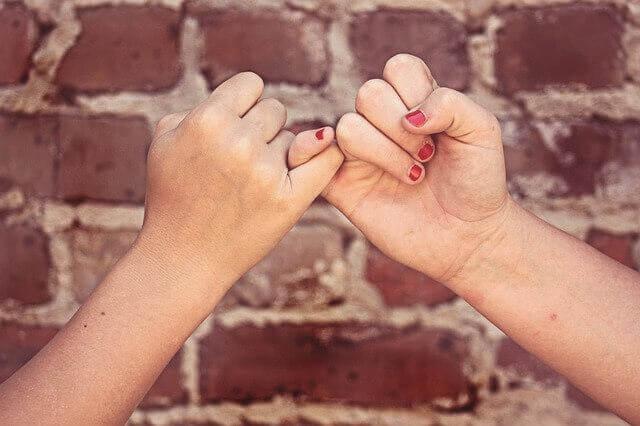 Vänner som litar på varandra.