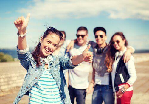 Att vara glad för andra kan göra dig glad också