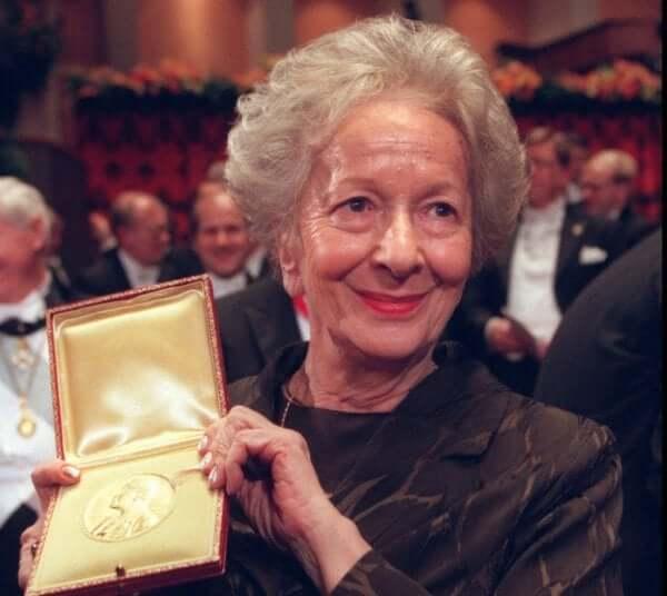 Biografi om Wisława Szymborska och hennes nobelpris.