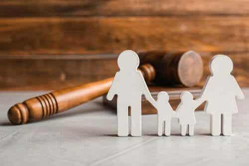 De juridiska aspekterna hos delad vårdnad