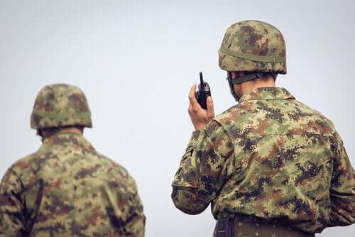 Hovland studerade soldater