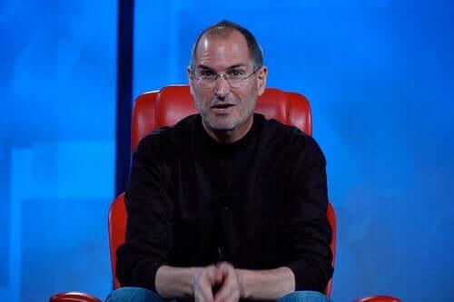 Steve Jobs vid presentation