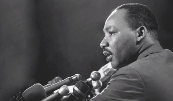 Martin Luther Kings kamp för medborgerliga rättigheter