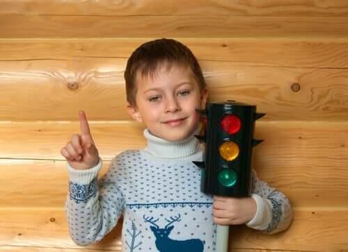 Trafikljussystemet för att hantera ilska