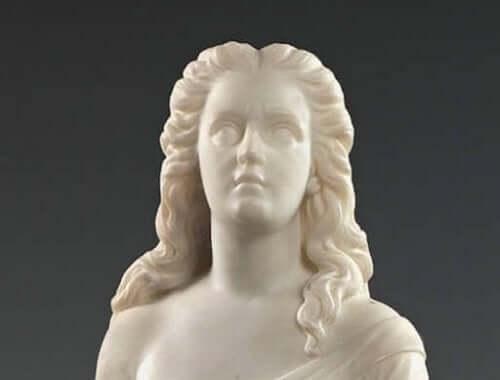 Skulptur av Edmona Lewis.