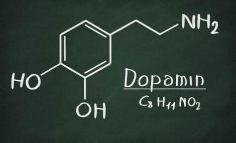 Dopamin på tavla