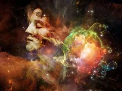Abstrakt bild av kosmos.