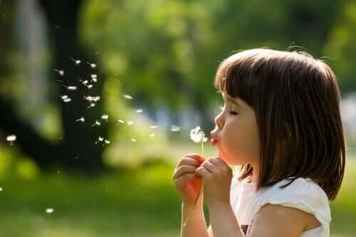Processen för ett barns emotionella utveckling