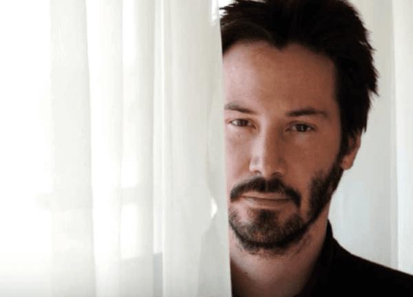 Keanu Reeves, en annan typ av kändis